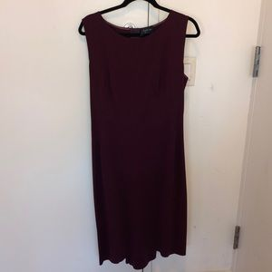 Dresses & Skirts - New! Lanvin Plum Sleeveless Dress